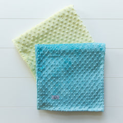 Double-Sided Minky Dot Blanket