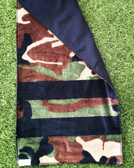 Camo golf towel