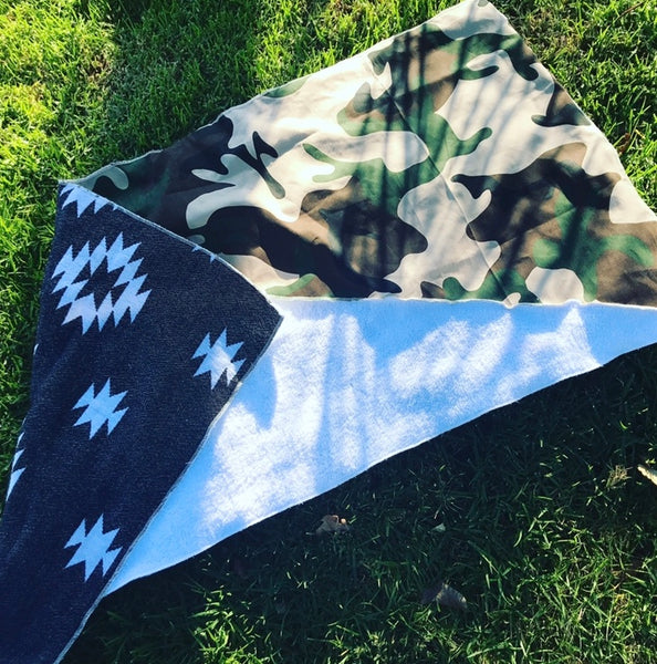 BlackCamo SoCal surf inspired golf towel