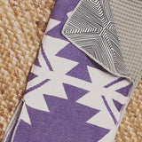 SoCal Surf inspired purple/lavender golf towel