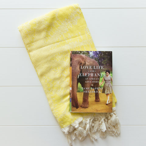 Summer Book and Blanket Set
