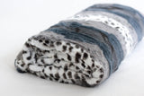 Animal Grey Throw (made to order)