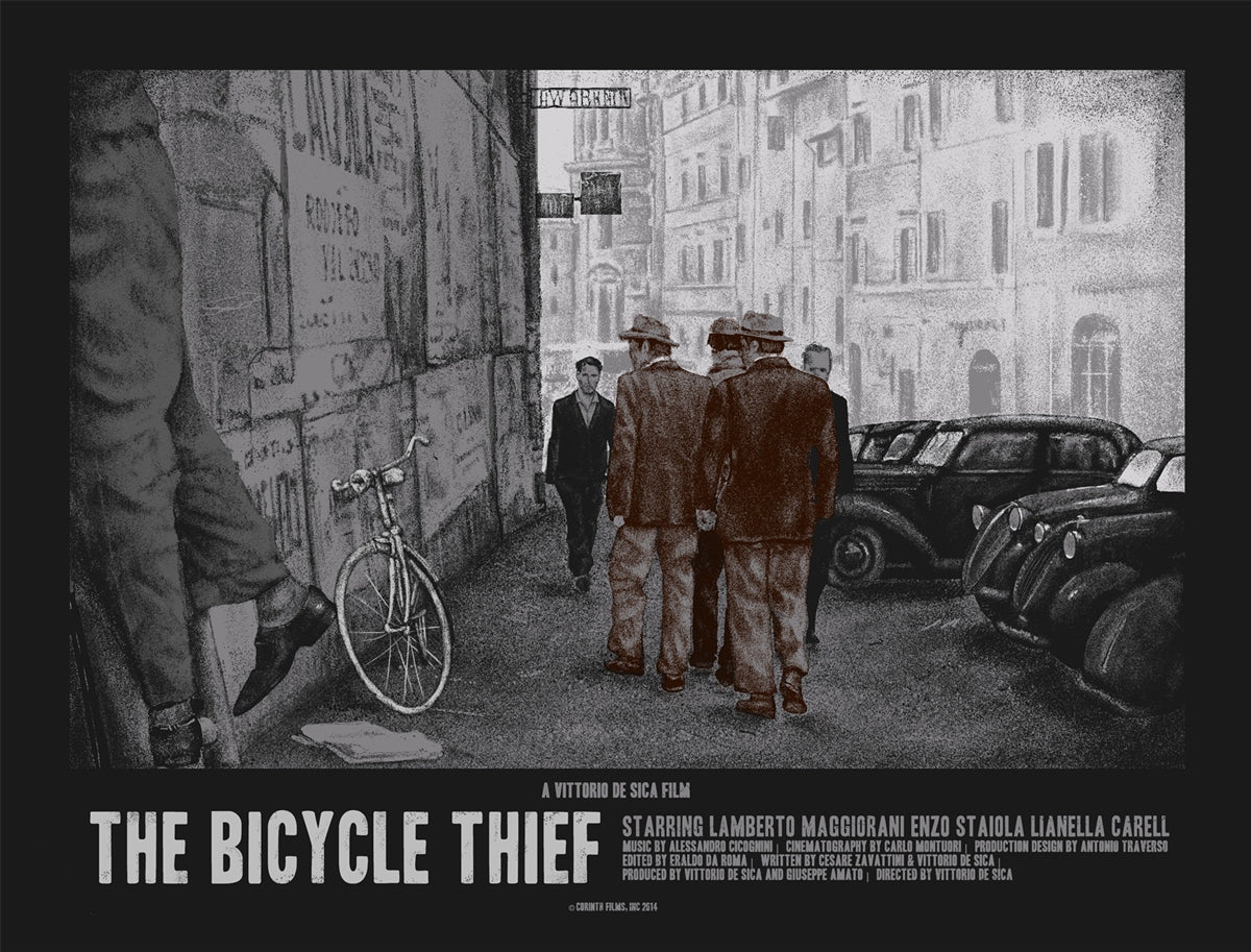The Bicycle Thief Regular print by Xul1349