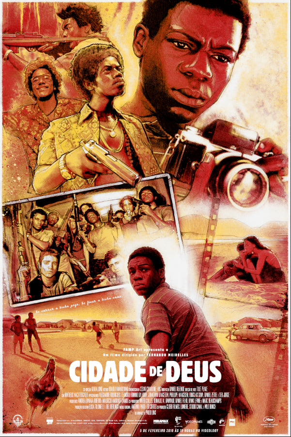 City of God Movie Poster by Paul Shipper