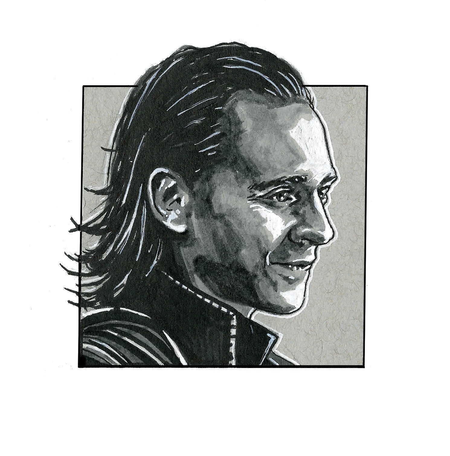 Loki – Square Print by Robert Bruno