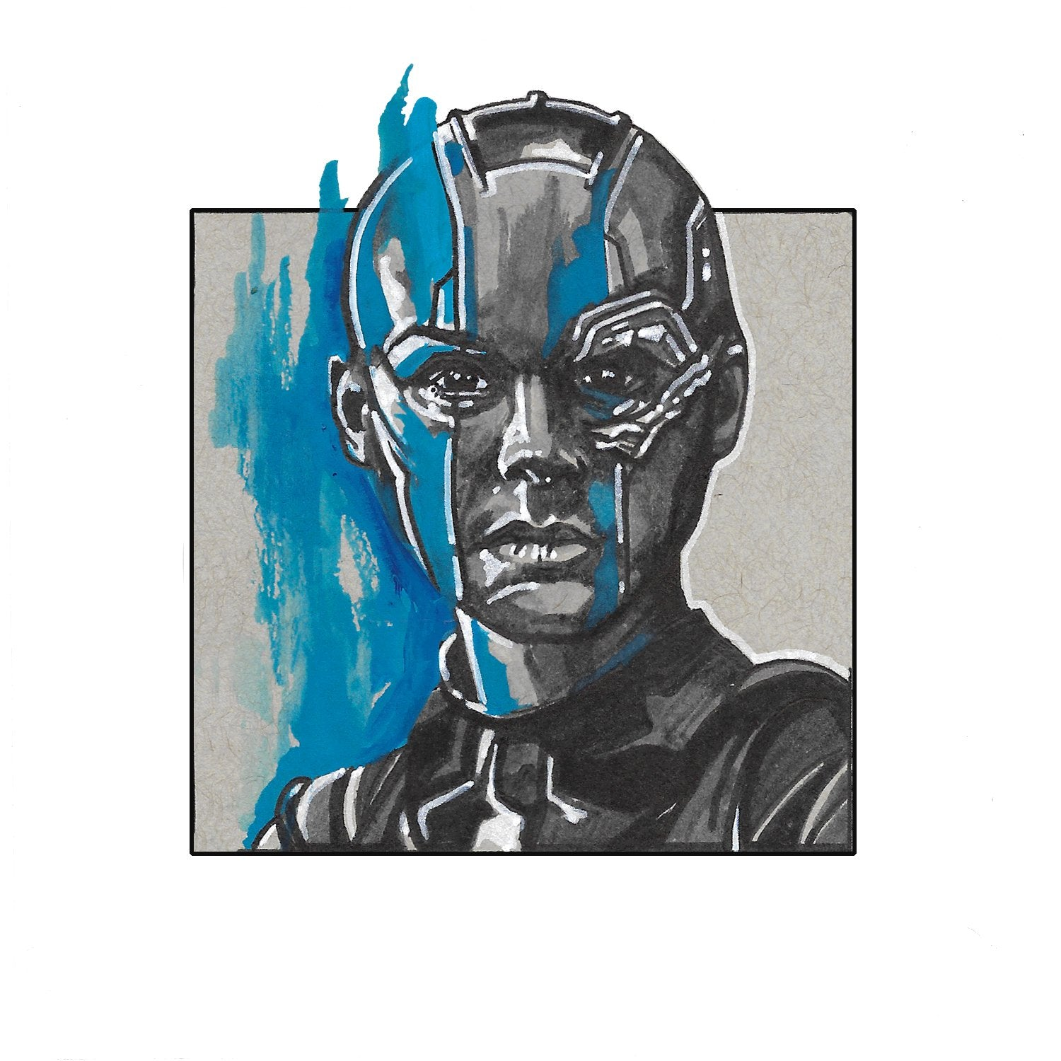 Nebula – Square Print by Robert Bruno