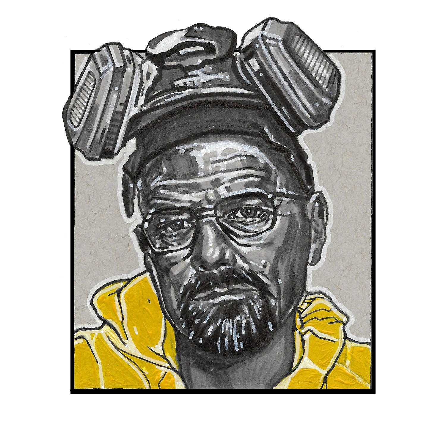 Walter White – Square Print by Robert Bruno