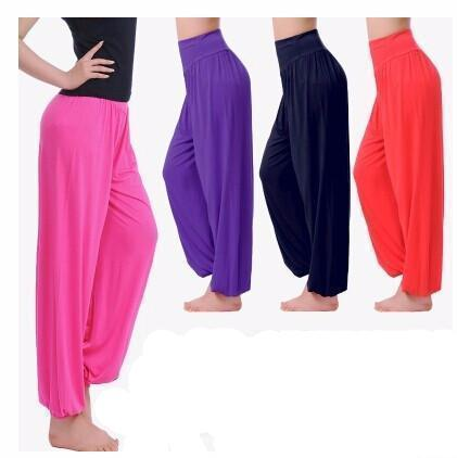 Pantalon de yoga bouffant