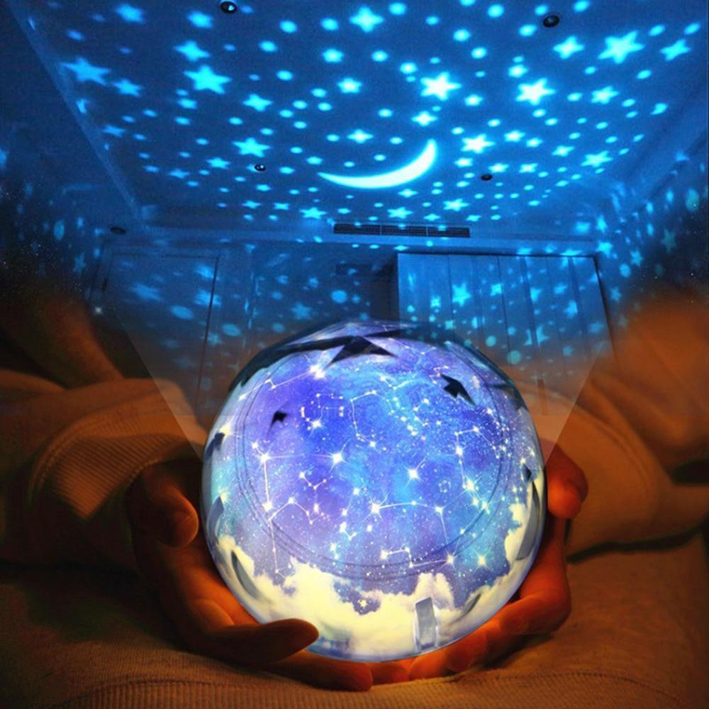 Lampe de projection relaxante