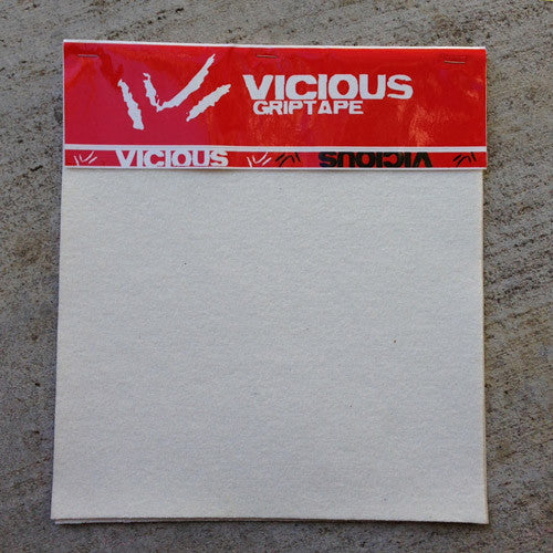 Vicious Griptape 3 Sheet Pack Clear