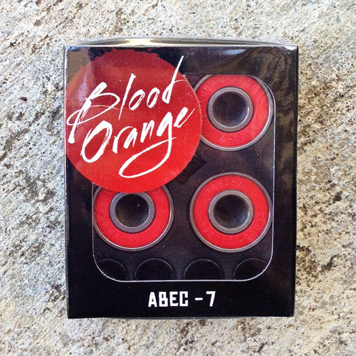 Blood Orange Bearings Abec 7