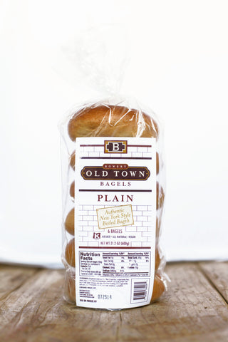 Old Town Bagels: Plain