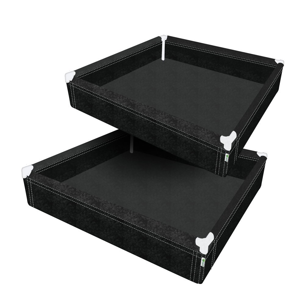 "GeoPlanter Fabric Raised Bed - 48"" x 48"" 2 Pack"