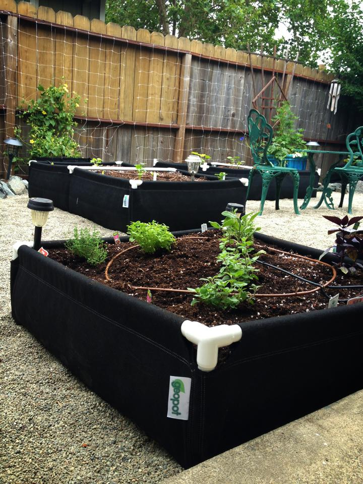GeoPlanter Fabric Raised Beds - GeoPlanter - Geopot.com