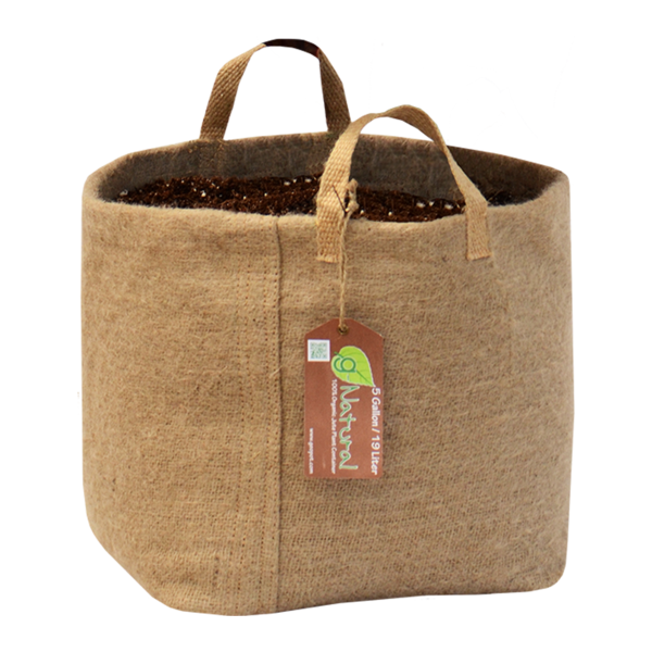G-Natural -  Biodegradable Organic Fabric Gardening Pot - G-Natural - Geopot.com