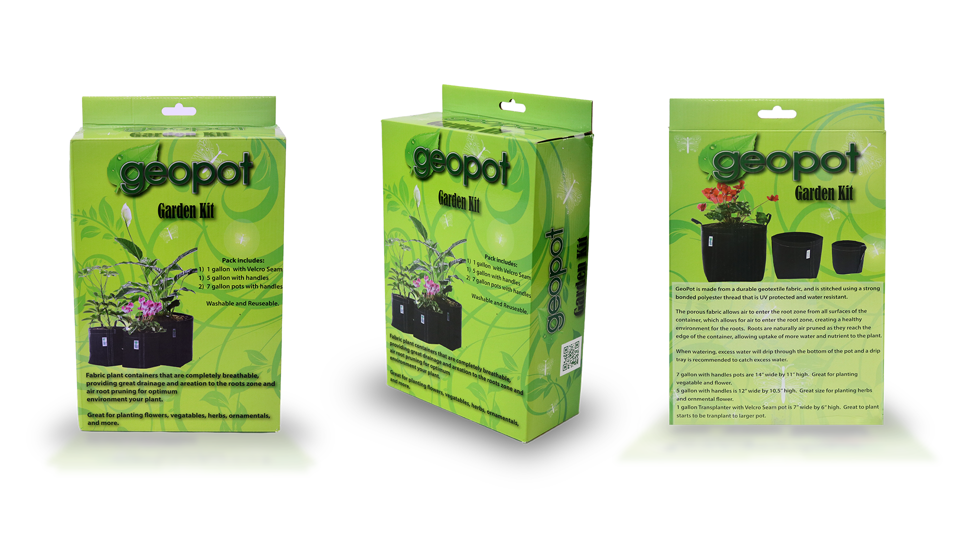 GeoPot Fabric Pot Garden Kit - GeoPot - Geopot.com