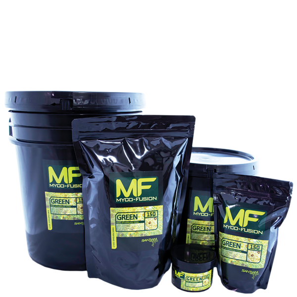 Myco Fusion Green 150 - Microbes and Mycorrhizae - Geopot.com