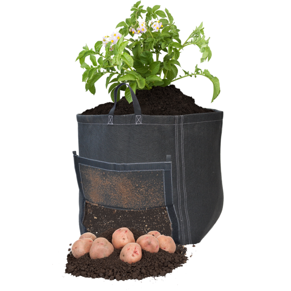 GeoPot Square Bottom Potato Bag - GeoPot - Geopot.com