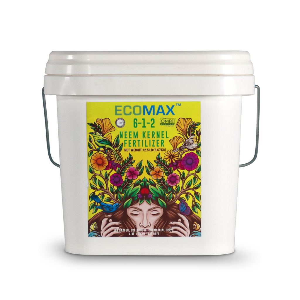 Ecomax - Neem Kernel Fertilizer - Organic Fertilizer - Geopot.com