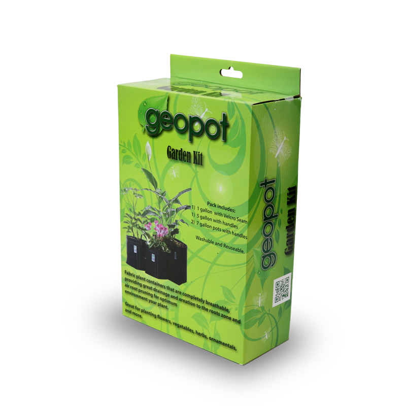 GeoPot Fabric Pot Garden Kit