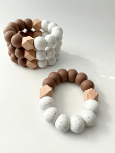 the Speckled KAI teething ring