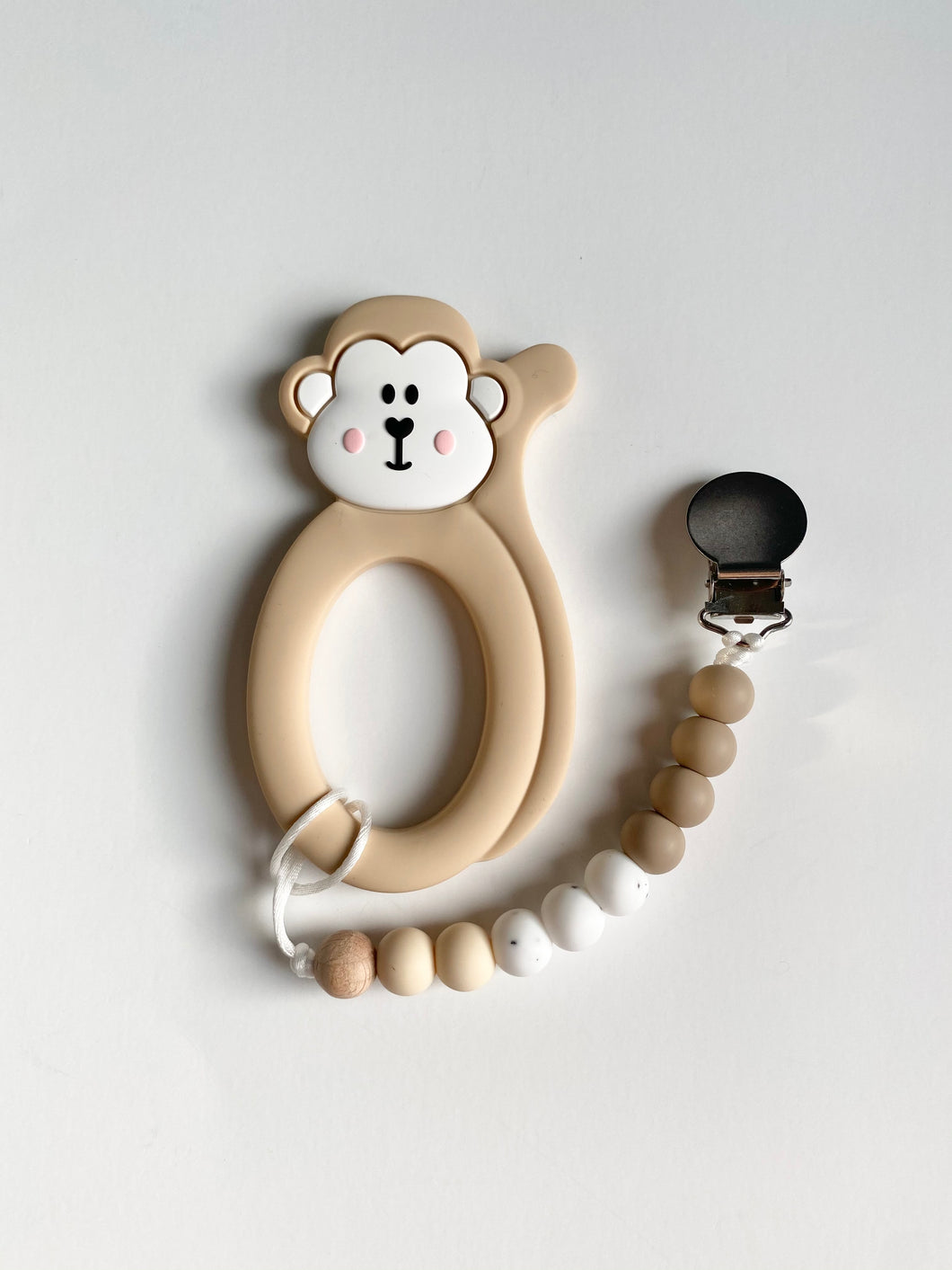 Monkey teether with Clip