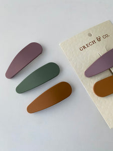 Grech & Co. Hair Clips Collection - Set of 3