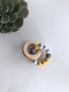 the KANE teething ring