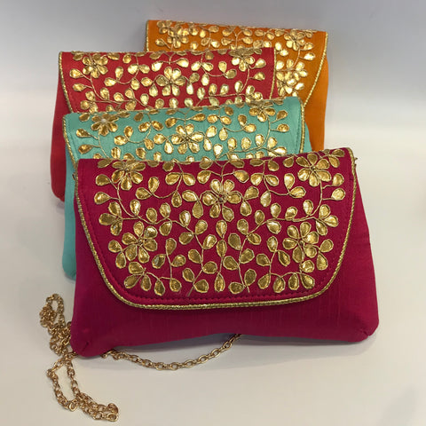 Stylish Gota Work Clutch Bag