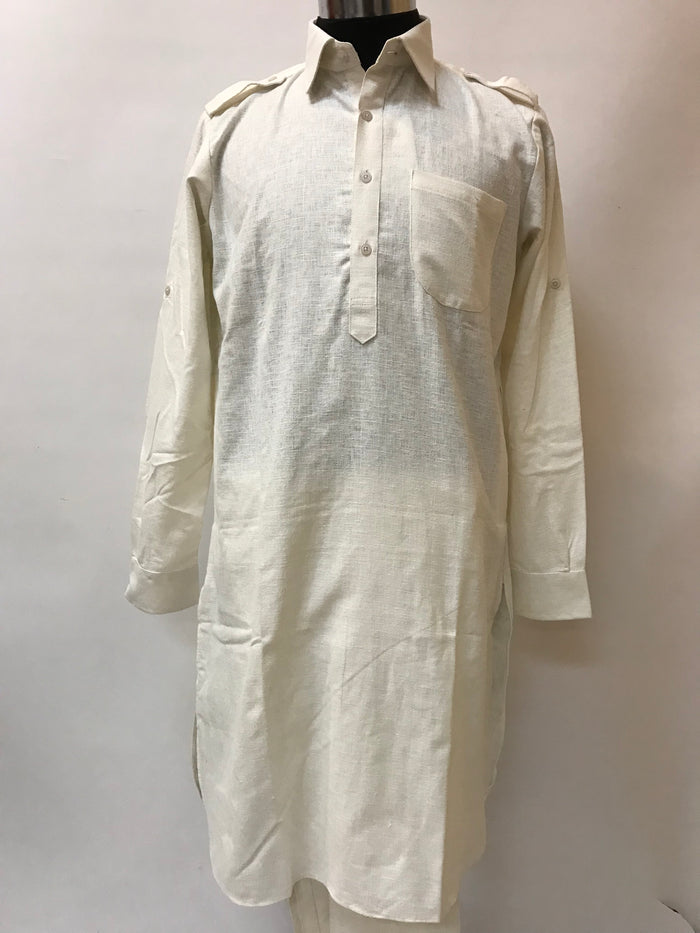 Men's Punjabi/Pathani Kurta Pajama Set