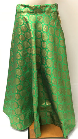 BANARASI SILK - LIGHT GREEN