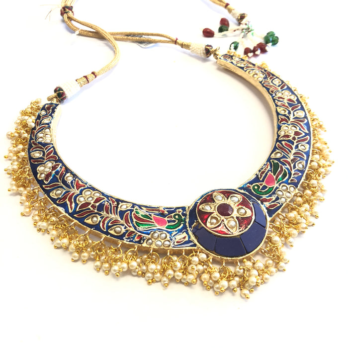 Meenakari Handpainted Necklace