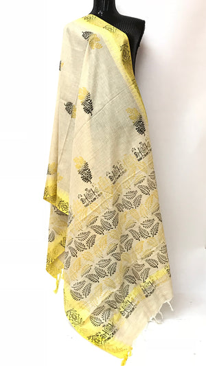 Hand Painted Dupatta