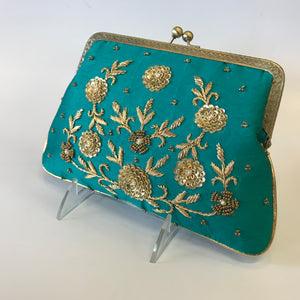 ZARDOZI Handwork Clutch Bag