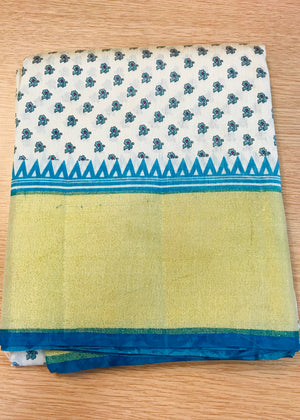 TUSSER SILK SAREE (COLORS AVAILABLE)