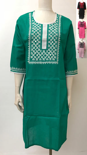 Sindhi Hand Embroidered Kurta