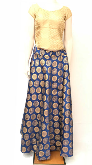 BANARASI SKIRT ( Colors Available)