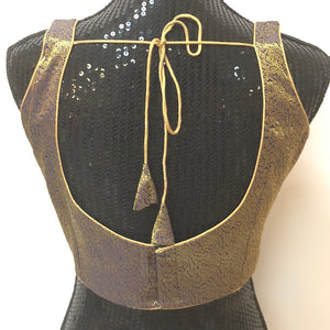 Custom Made Sleeveless Blouse