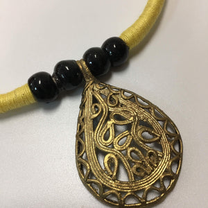 HANDCRAFTED DOKRA WORK NECKLACE SETS