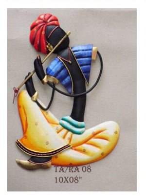Rajasthani Musician Wall Hanging Set Of 4