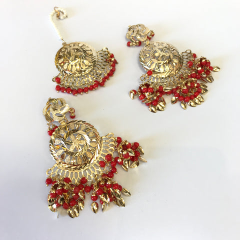 Tika Earrings Set