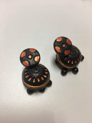 Handmade Terra Cotta Earrings