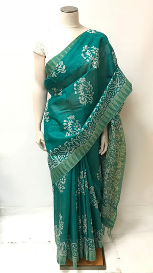Handloom Batique Saree