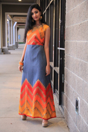 Party Wear Maxi Dress