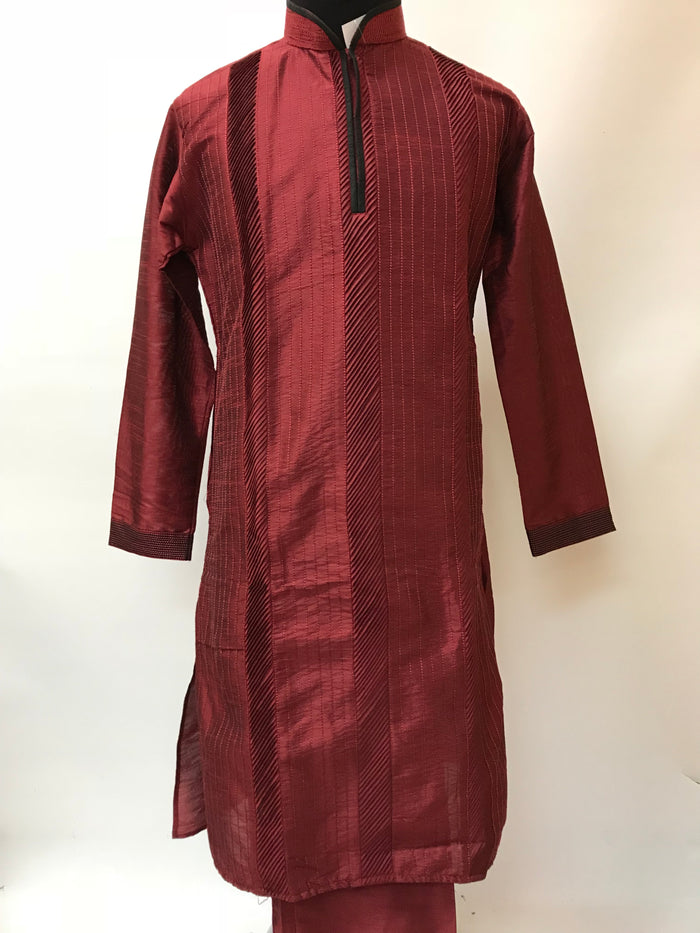 Men Silk Kurta Pajama Set