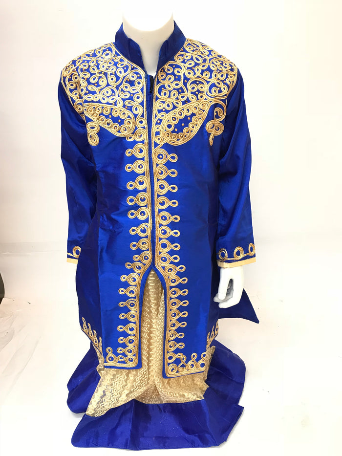 Girls embroidered lehnga with Kurti