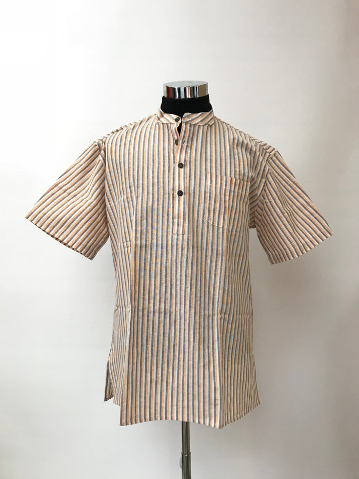 Men's Short Cotton Kurta