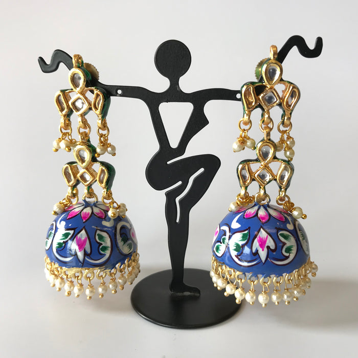 Exclusive Hand Painted Jhumka