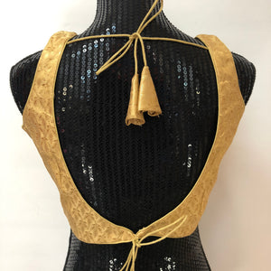 CUSTOM MADE GOLDEN BLOUSE