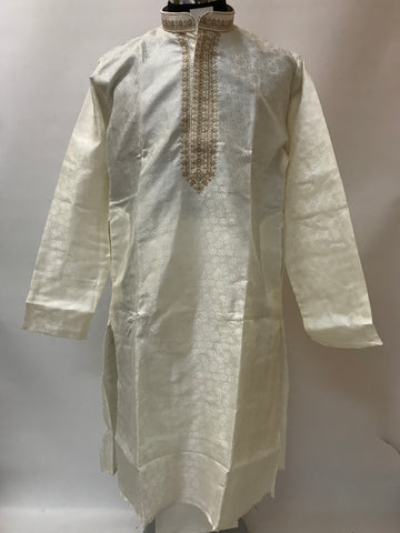 Mens Embroidered Kurta Pajama Set